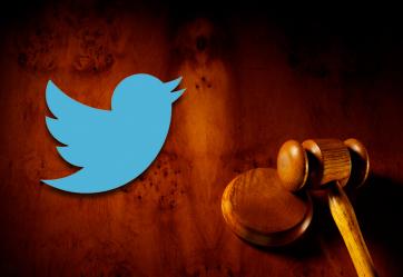 Twitter law