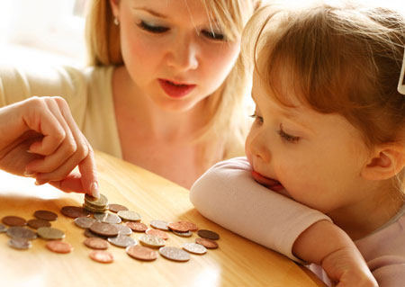 single parenting financially