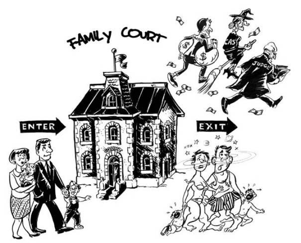 family court cartoon